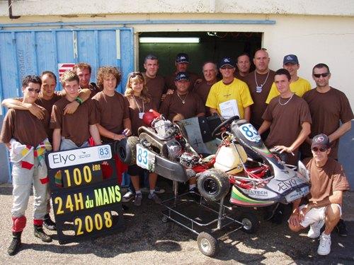 Le team 2008, bon nombre seront au rendez-vous fin août...