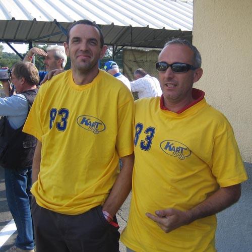 Looping à droite avec François lors des 24H 2007